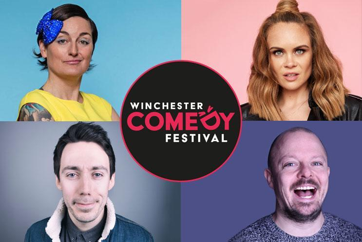 Zoe Lyons, Joanne McNally, Tom Deacon, James Gill