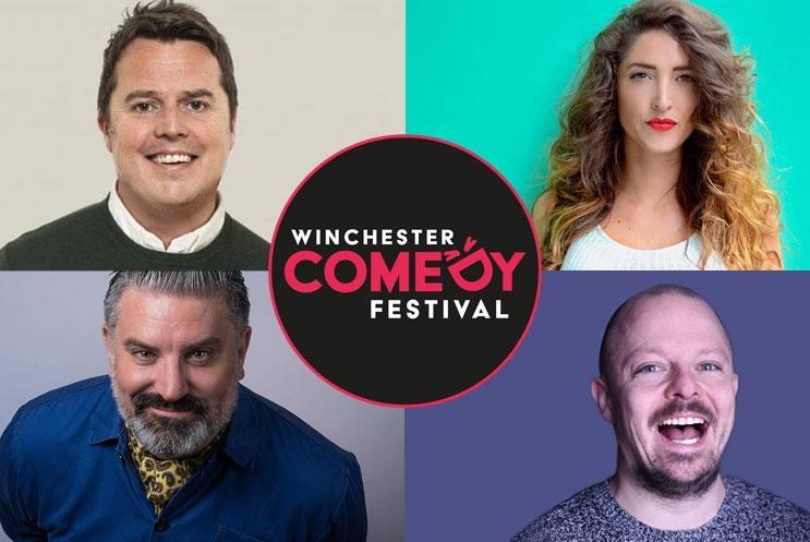 Paul McCaffrey, Kelly Convey, Rich Wilson, James Gill (MC)