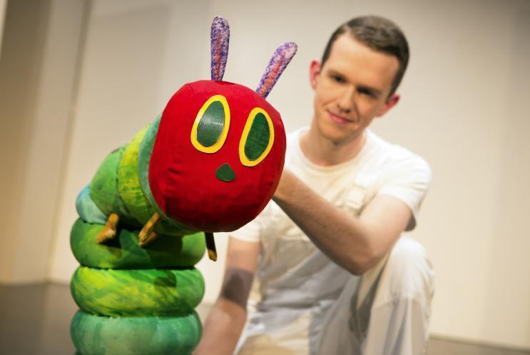 Hungry Caterpillar puppet